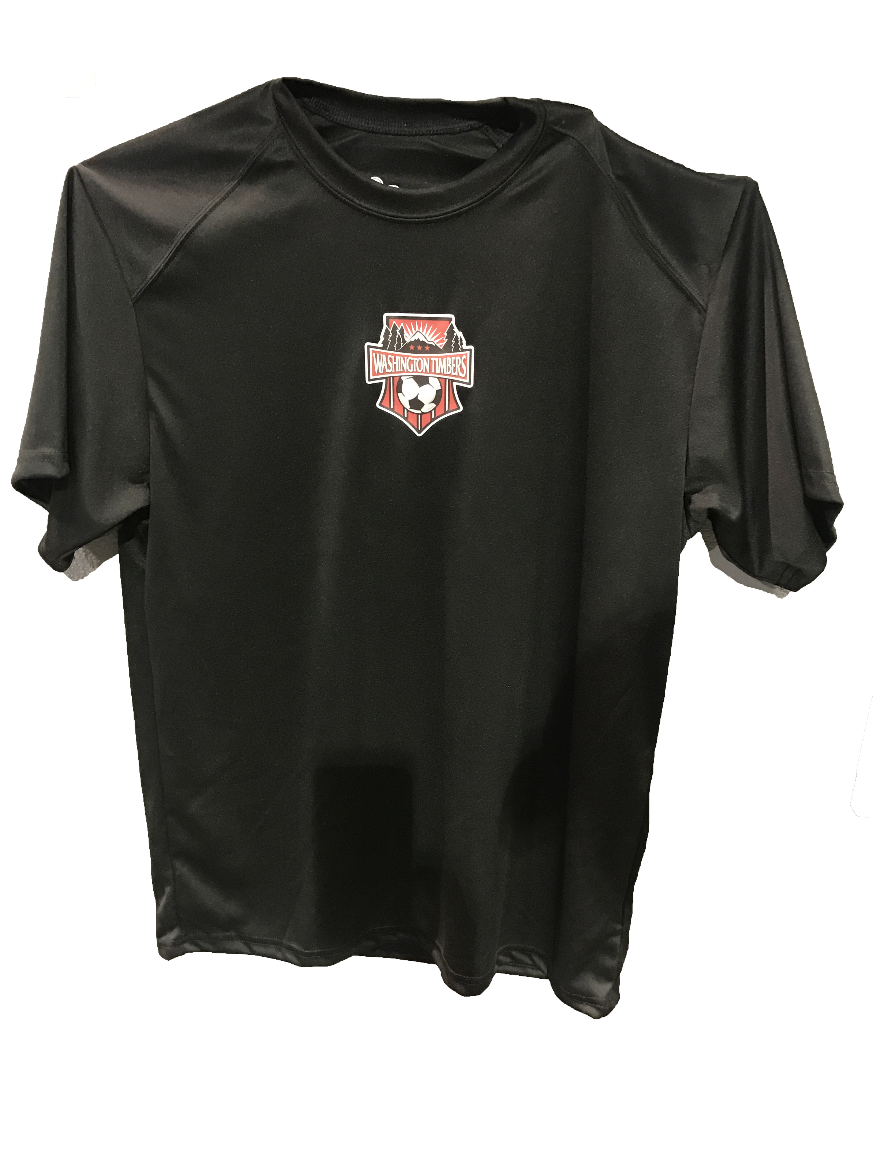 Washington Timbers Practice Shirt (Black Dri-Fit)
