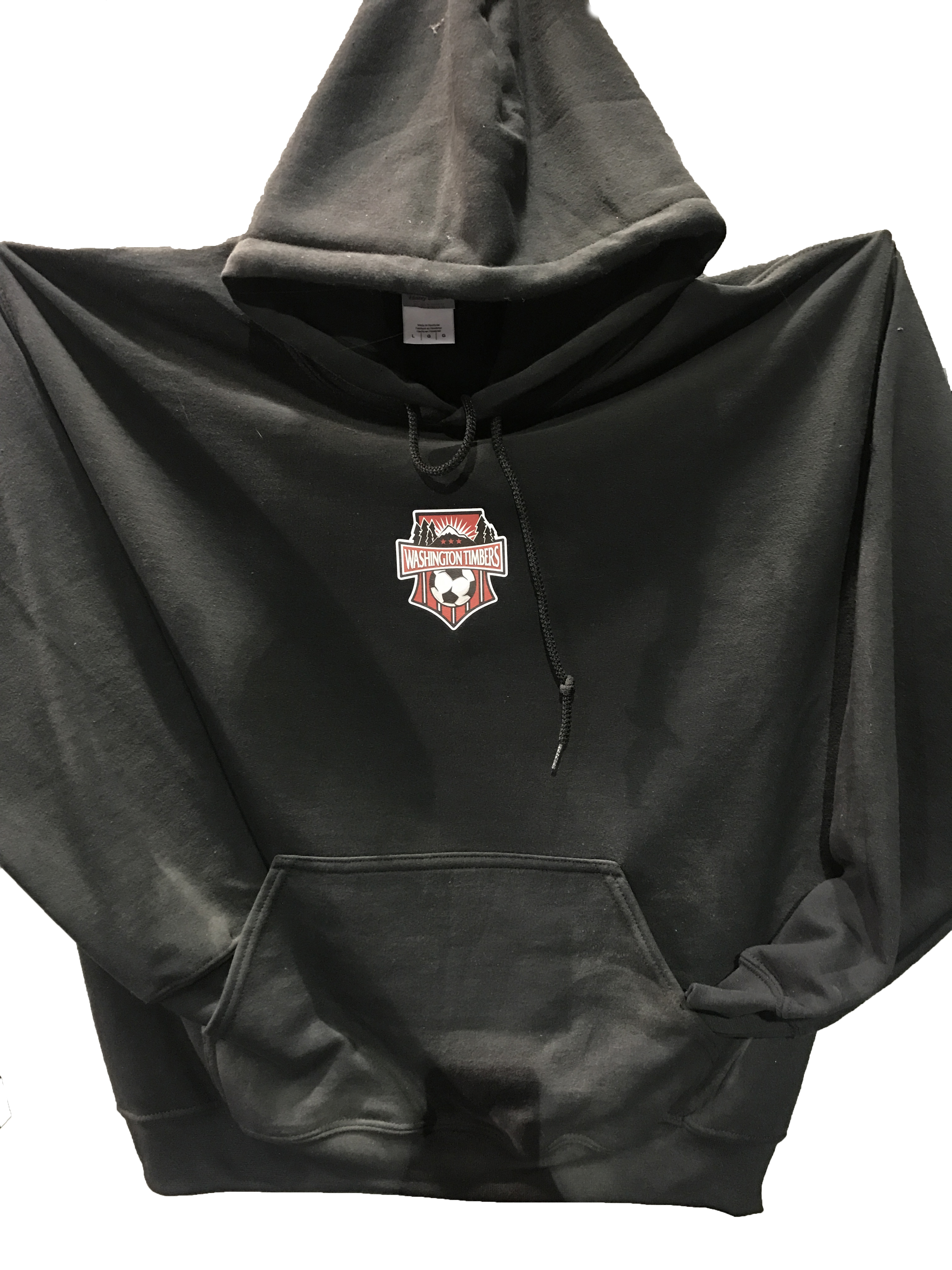 Washington Timbers Hoodie (Black)